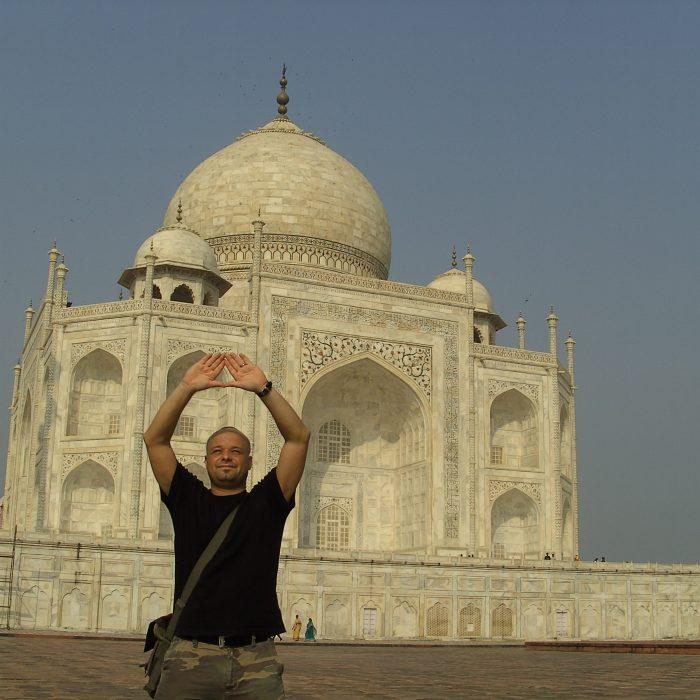 Axel Mengewein Indien Taj Mahal