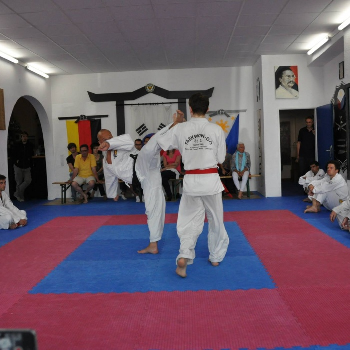 Kampf Taekwondo