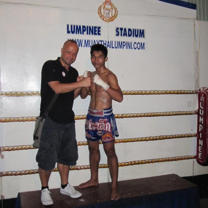 Thaiboxen Bangkok Thailand