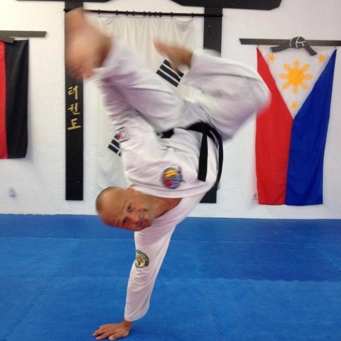 Taekwondo V-Kick