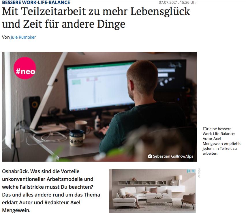 Interview Neue Osnabrücker Zeitung